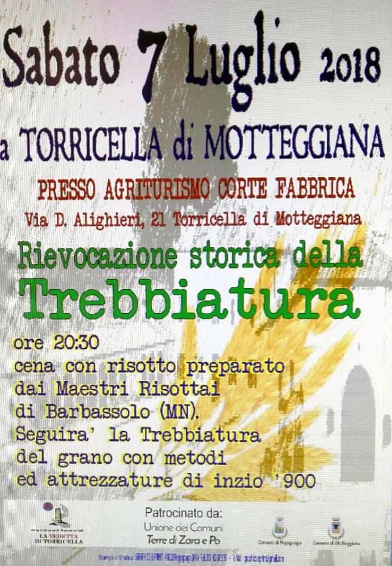 Festa della trebbiatura a Torricella