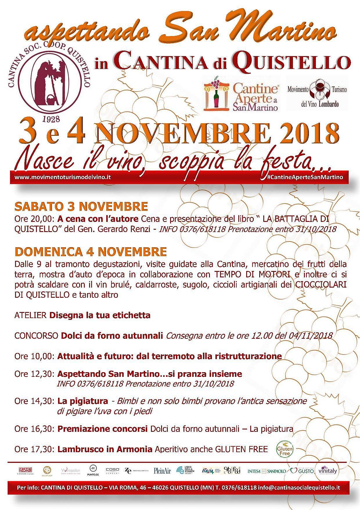 Quistello – San Martino in cantina 2018