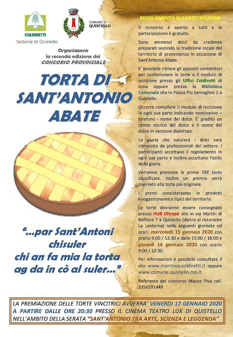 Secondo Concorso torte di Sant'Antonio Abate